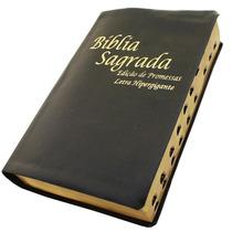 Bíblia Letra Hipergigante Com Harpa (evangélica)