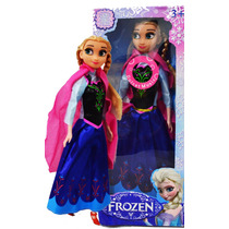 Boneca Frozen Anna Canta Musica Let It Go