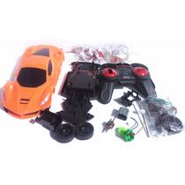 Kit Para Montar Carrinho De Controle Remoto Camaro 26pçs