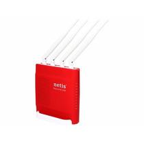 Roteador Netis Wf2681, 900mbps, 4portas, Antenas 5dbi