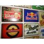 Placas Em Metal De Cervejas Temas Retro Bebidas