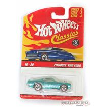 Miniatura Hotwheels Plymounth King Kuda Classics - Mattel