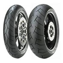 Pneus Diablo Pirelli 120+190/50 Z1000 Ninja Zx10 Zx14 R1 F4