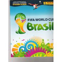 Álbum Copa Mundo 2014 110 Figurinhas Mais Álbum 35.00