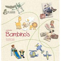 Papél De Parede Coleção Bambinos Bobinex 10mx52cm + Cola