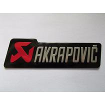 Emblema Akrapovic Hornet Cbr 600 1000 Hayabusa Bandit