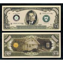 Usa Md-184 Fe 1 Milhão De Dólares Richard Nixon * Q J *