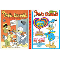 Dvd Com + 230 Revistas Do Pato Donald Digitalizadas