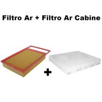 Filtro Ar + Filtro Ar Cabine Punto 1.6 16v Após 2011