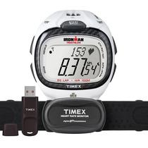Relógio Timex Monitor Cardíaco Usb E Software T5k490f7 Nfe