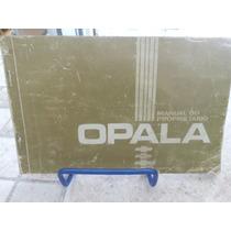 Manual Do Proprietário Caravan/opala