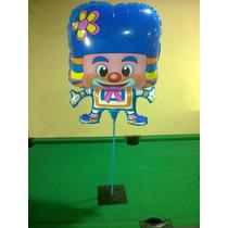 Balão Metalizado Palhaço E Patati E Patatá
