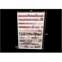 Estante (170) Esmaltes (com Portas Acrilicos) Manicure -