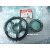 Engrenagem Original Honda + Placa Partida Cb300 Xre300