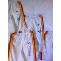 Calças De Capoeira Adulto E Infantil Poliéster.