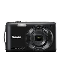 Câmera Digital Nikon Coolpix S3200 16mp Zoom 6x + 2 Brindes
