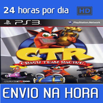 Ctr/ Crash Team Racing Ps3 Codigo Psn + Brinde(outro Jogo)