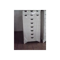 Gaveteiro ( Armário ) Com 12 Gavetas Mdf Pintura Branca