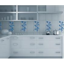 Adesivo Decorativo Kit Floral - Azulejos - Vidros - Banheiro