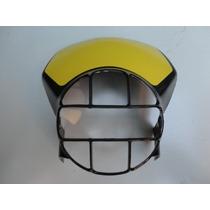 Carenagem Mascara Farol Xlx 250 Xls 125 Preto/amarelo 521125