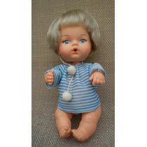 Boneca Bebezinho Estrela Antiga Roupa Azul