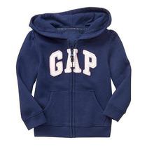 Moleton Gap Baby Com Ziper E Bolso: 18-24 Meses