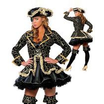 Fantasia Pirata Super Luxo E Outras Pronta Entrega