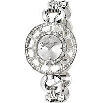 Relógio Feminino Just Cavalli Italiano Cristal Prata Luxo Mk