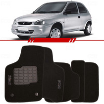 Tapete Carpete Corsa Wind Preto 97 98 99 00 01 02 Bordado