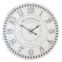 Relógio Parede Mdf Grand Hotel London 60cm Decora Vetro #712