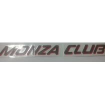 Emblema Adesivo Monza Club