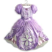 Fantasia Disney Nova Princesa Sofia 2014 Tam 5/6 E 7/8