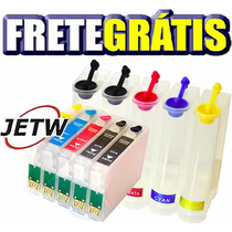 Bulk-ink T1110 Tx515nf T115126 T103320 T103220 Frete Grátis