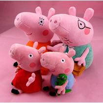 Família Da Peppa Pig - Pelúcia - Pronta Entrega