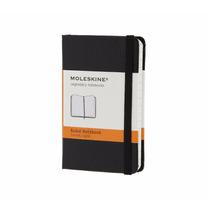 Caderno Moleskine Classic Preto Pautado Extra Peq 7085