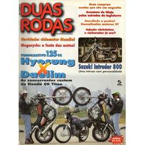 Duas Rodas N°252 Hyosung Cruise Daelim Suzuki Intruder 800