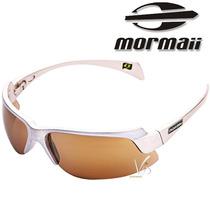 Óculos De Sol Mormaii Espelhado Prata Dourado Novo Original