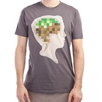 Camiseta M - Minecraft - Original - Mine Crafted