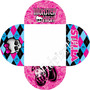 120 Forminhas Personalizadas - Monster High - Adriarts