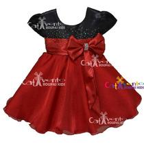 Vestido Festa Infantil Luxo Dama De Honra E Tiara De Brinde