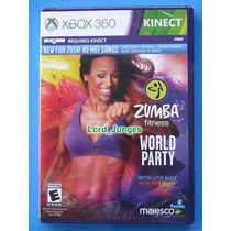 Zumba Fitness World Party - Xbox 360 - Kinect - Lacrado.