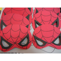 Mascara Homem Aranha Aniversário Kit C/ 40 Uni