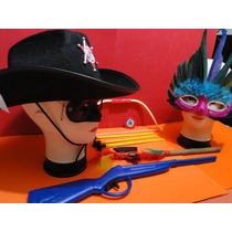 Fantasia Infantil Velho Oeste Xerife Indio Cowboy Arco