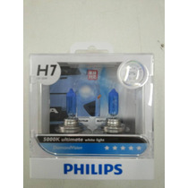 Lampadas Philips Diamond Vision H11,h7,h8,h27,h1,hb4,hb3