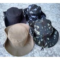 Chapéu Australiano, Country, Pescador - Camuflado E + Cores