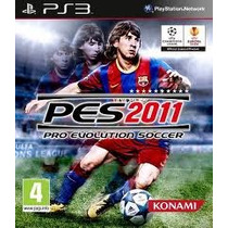 Pes 2011 P/ Ps3 Pro Evolution Soccer 2011 Usado