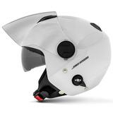 Capacete-New-Atomic-Branco-Aberto-Pro-Tork-Solid-Sub-viseira