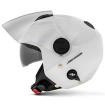 Capacete New Atomic Branco Aberto Pro Tork Solid Sub-viseira