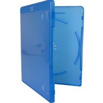 Estojo Blu-ray Box Case Azul Vídeolar Com 100 Unidades