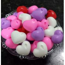 100 Sabonetes Mini Coração